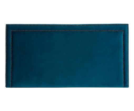 Cabeceira Painel em Veludo Adele - Esmeralda Pavão, Azul   WestwingNow