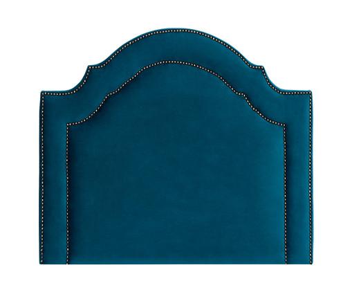 Cabeceira Painel em Veludo Royal Tacha - Esmeralda Pavão, Azul | WestwingNow