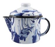 Bule para Chá Rosito - Azul Marmorizado | WestwingNow
