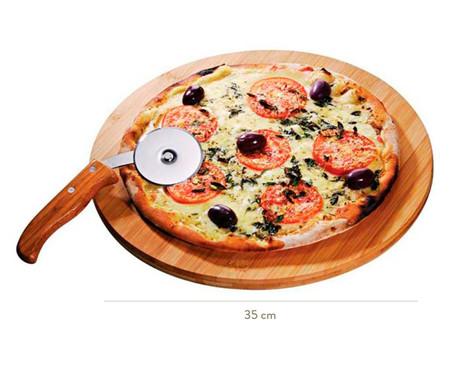 Jogo para Pizza em Bambu Helm - Natural | WestwingNow