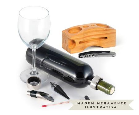 Jogo para Vinho em Inox Suruc | WestwingNow