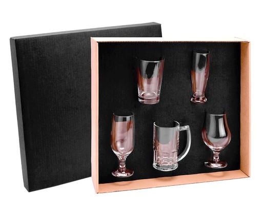 Jogo de Copos para Cerveja em Vidro Alya - Transparente, Transparente | WestwingNow