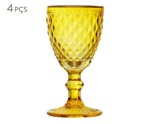 Jogo de Taças Angeloni - Âmbar, Amarelo | WestwingNow
