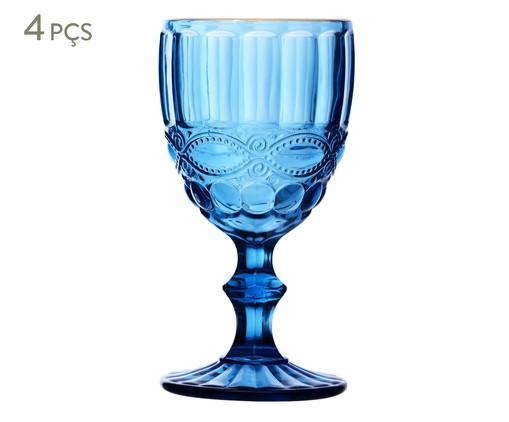 Jogo de Taças Haned - Azul, Azul   WestwingNow