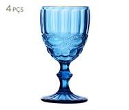 Jogo de Taças Haned - Azul | WestwingNow