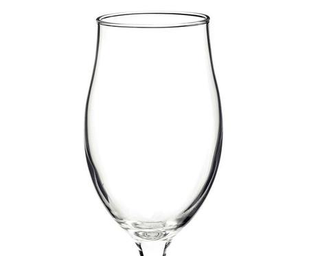 Jogo de Taças para Cerveja em Vidro Haya - Transparente | WestwingNow