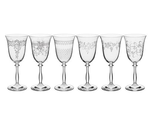 Jogo de Taças para Água em Vidro Dom - Transparente, Transparente | WestwingNow