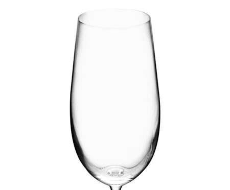 Jogo de Taças para Cerveja em Cristal Mavi - Transparente | WestwingNow