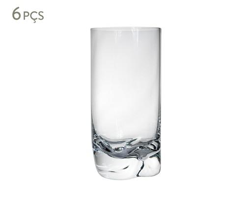 Jogo de Copos para Água em Cristal Lexi - Transparente, Transparente | WestwingNow