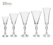 Jogo de Taças para Drinks em Cristal Gail - Transparente | WestwingNow