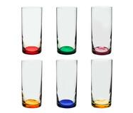 Jogo de Copos para Água em Vidro Olmo - Colorido | WestwingNow