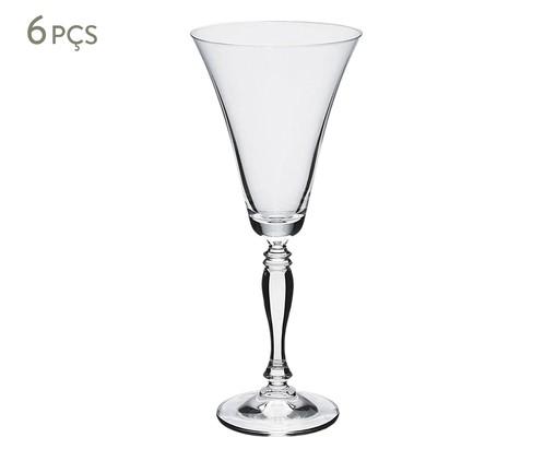 Jogo de Taças para Vinho em Cristal Betir - Transparente, Transparente | WestwingNow