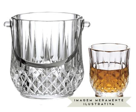 Jogo para Whisky em Vidro Hoops - Transparente | WestwingNow