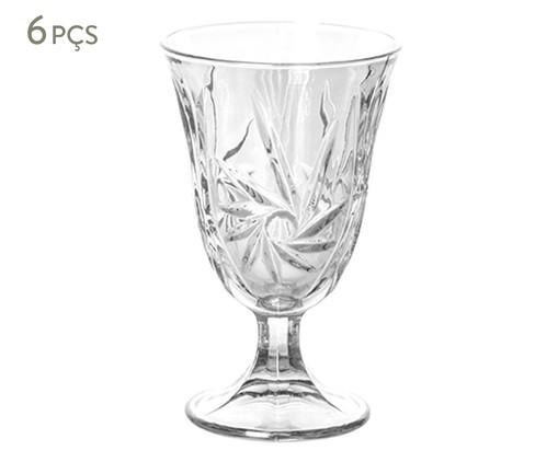 Jogo de Taças para Água em Vidro Jen - Transparente, Transparente | WestwingNow