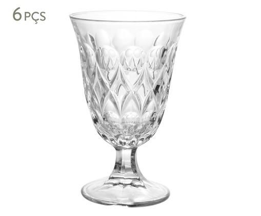 Jogo de Taças para Água em Cristal Abby - Transparente, Transparente | WestwingNow