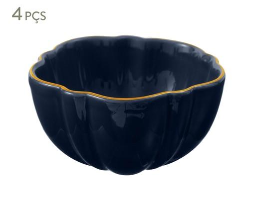 Jogo de Bowls Pétala Atlântico - Azul, Azul escuro | WestwingNow