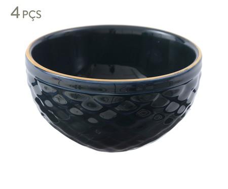 Jogo de Bowls Escama Atlântico - 04 Pessoas | WestwingNow