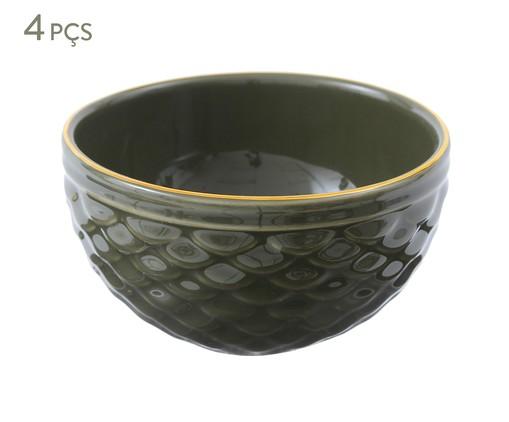 Jogo de Bowls Escama Jade - Verde, Verde escuro | WestwingNow