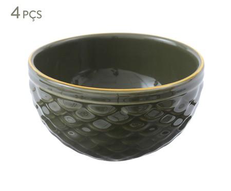 Jogo de Bowls Escama Jade - 04 Pessoas | WestwingNow