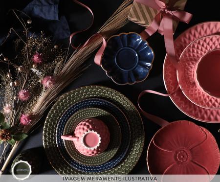 Jogo de Pratos para Sobremesa Escama Rosa Ballet - 04 Pessoas | WestwingNow
