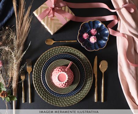 Jogo de Pratos para Sobremesa Escama - Rosa Ballet | WestwingNow