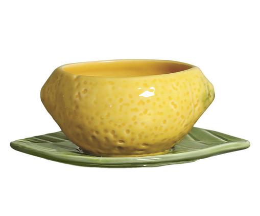Bowl em Cerâmica Napoli - Amarelo, Verde | WestwingNow