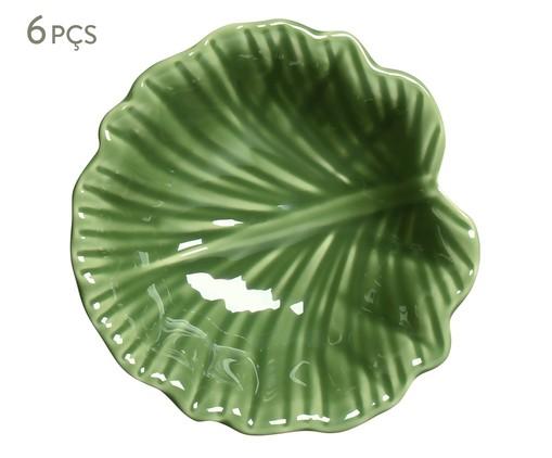 Jogo de Bowls em Cerâmica Zoe - Verde, Colorido | WestwingNow
