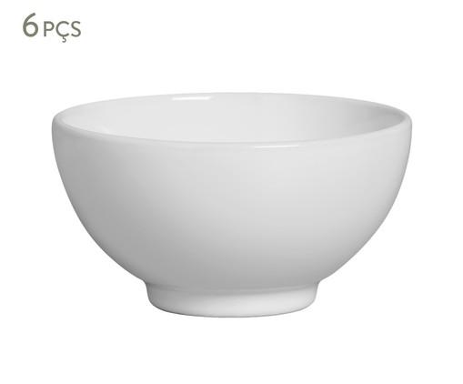Jogo de Bowls em Cerâmica Bina - Branco, Branco | WestwingNow