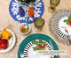 Jogo de Pratos para Sobremesa em Cerâmica Lea 06 Pessoas - Branco, Branco | WestwingNow