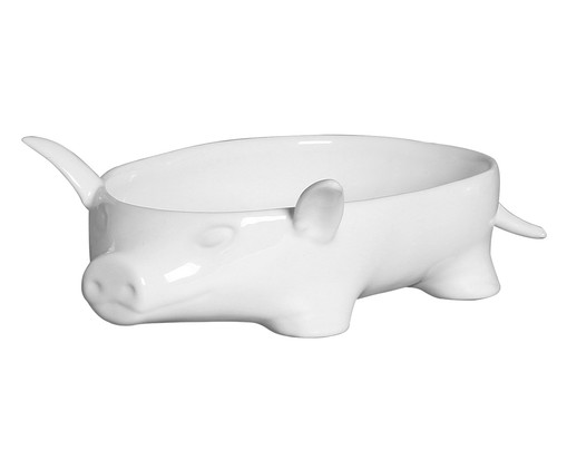 Bowl de Cerâmica James - Branco, Branco | WestwingNow