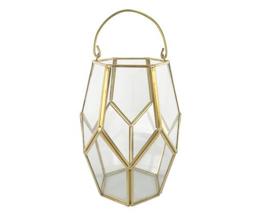 Vaso Ahava - Dourado, Dourado, Transparente | WestwingNow