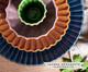 Jogo de Pratos para Sobremesa Vitória-Régia Azul - 04 Pessoas, Azul | WestwingNow