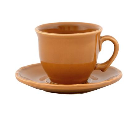 Jogo de Xícaras para Chá com Pires Bambu Colors - 04 Pessoas | WestwingNow