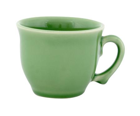 Jogo de Xícaras para Chá com Pires Bambu Verde Nilo - 04 Pessoas | WestwingNow
