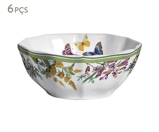 Jogo de Bowls de Cerâmica Van - Estampado, Colorido | WestwingNow