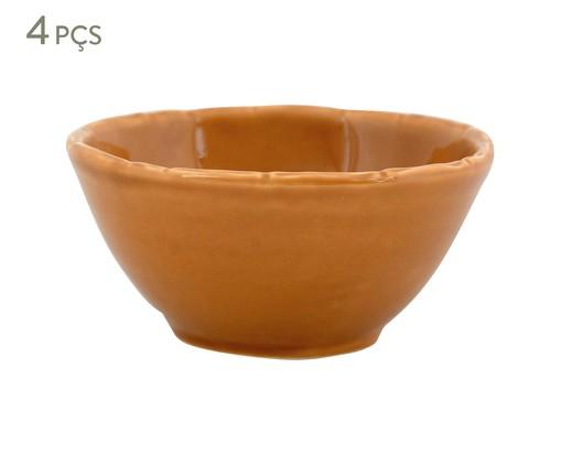 Jogo de Bowls Bambu Ocre - 04 Pessoas, Ocre   WestwingNow
