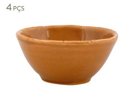 Jogo de Bowls Bambu Ocre - 04 Pessoas | WestwingNow