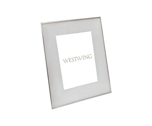 Porta-Retrato Annie - Prateado, Prata / Metálico | WestwingNow