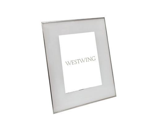 Porta-Retrato Annie - Prateado, Prata / Metálico   WestwingNow