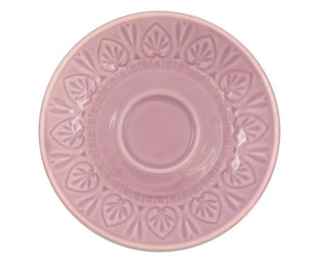 Jogo de Xícaras para Chá com Pires Mandala Turca Rosa - 04 Pessoas | WestwingNow