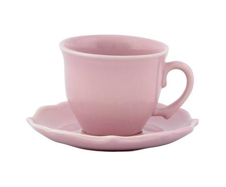 Jogo de Xícaras para Chá com Pires Portal Colors - 04 Pessoas | WestwingNow