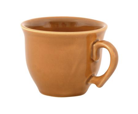 Jogo de Xícaras para Chá com Pires Portal Ocre - 04 Pessoas | WestwingNow