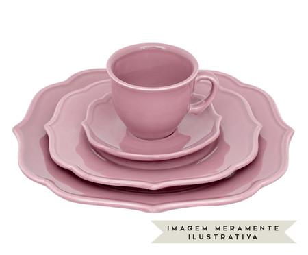 Jogo de Xícaras para Chá com Pires Portal Rosa - 04 Pessoas | WestwingNow
