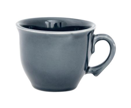 Jogo de Xícaras para Chá com Pires Portal Azul - 04 Pessoas | WestwingNow