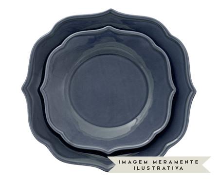 Jogo de Pratos para Sobremesa Portal Azul - 04 Pessoas | WestwingNow