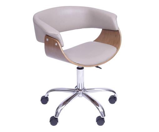 Cadeira de Escritório com Rodízios Elba - Fendi, bege | WestwingNow
