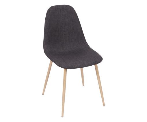Cadeira Layla - Grafite, cinza | WestwingNow