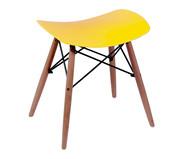 Banquinho Eames Wood - Amarelo | WestwingNow