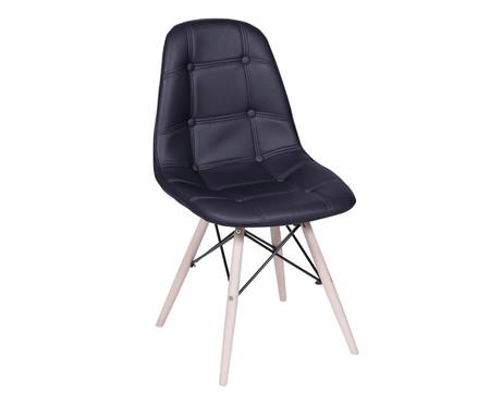 Cadeira Paris Wood - Preta | WestwingNow
