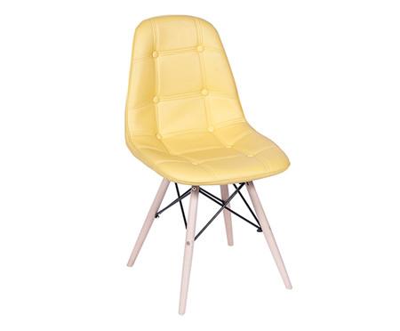 Cadeira Eames Stuf - Amarela | WestwingNow